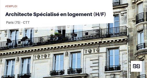 Architecte spécialisé en logement