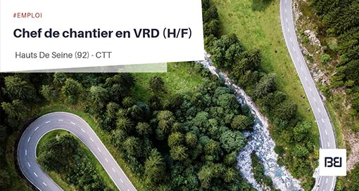 CHEF DE CHANTIER EN VRD