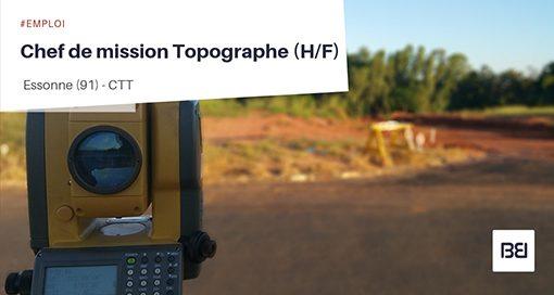 CHEF DE MISSION TOPOGRAPHE