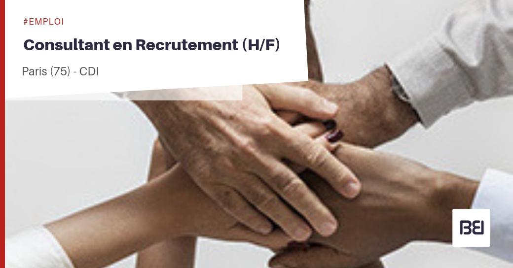 Offre d 39 emploi consultant en recrutement bureau d 39 tude interim - Offre d emploi bureau d etude ...
