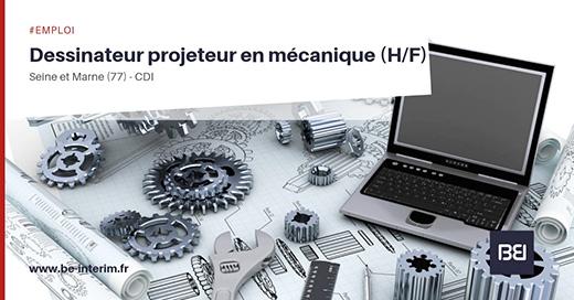 dessinateur en mécanique