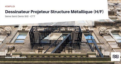 Dessinateur Projeteur Structure Metallique