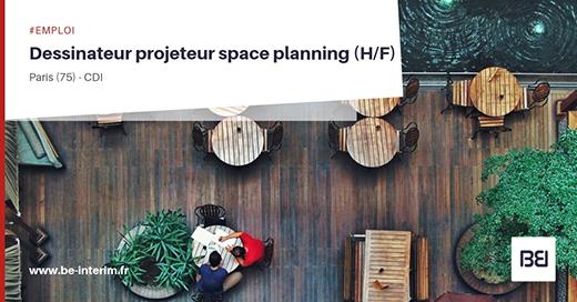 Dessinateur projeteur space planning