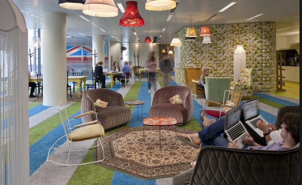 Les Bureaux de Google à Londres