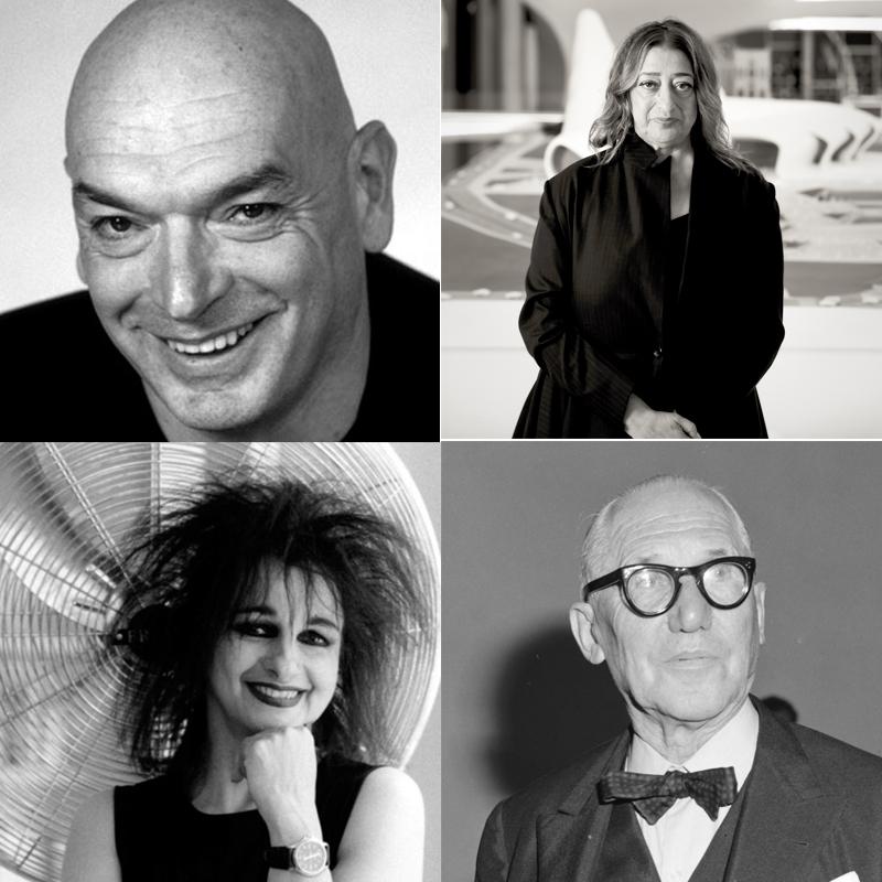 architectes célèbres