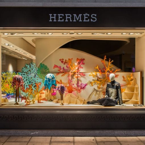 Hermès flagship stores, Geneva and Zurich
