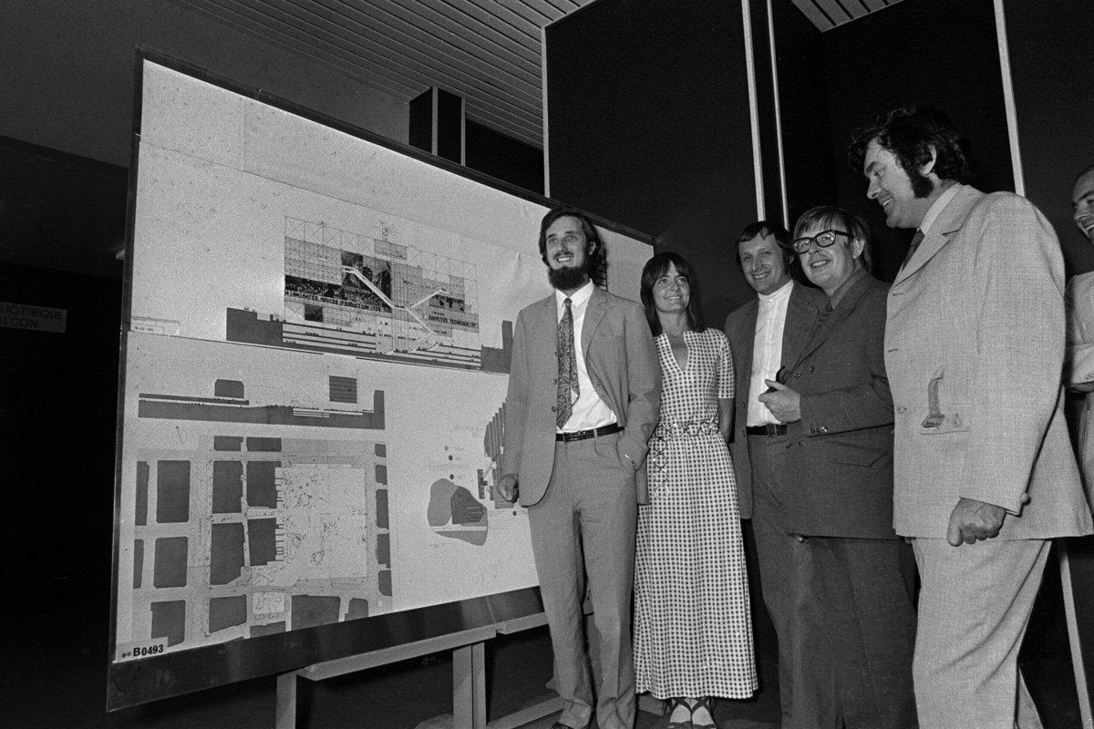 architectes et ingénieurs centre Pompidou