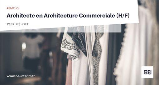 Architecte en Architecture commerciale
