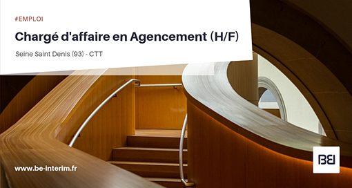 CHARGÉ D'AFFAIRE EN AGENCEMENT