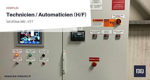 Technicien- Automaticien