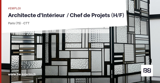 architecte intrieur chef de projets hf