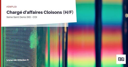 CHARGE D'AFFAIRES CLOISONS