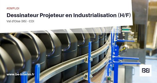 projeteur industrialisation