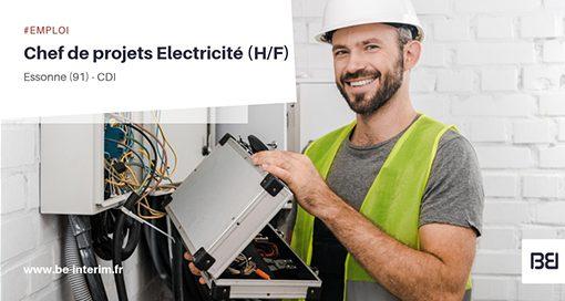 CHEF DE PROJETS ELECTRICITÉ