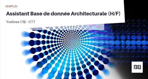 ASSISTANT BASE DE DONNÉE ARCHITECTURALE