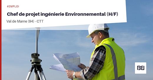Chef de projet ingénierie Environnemental