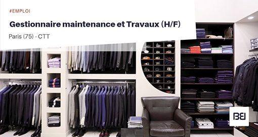 Gestionnaire maintenance et Travaux