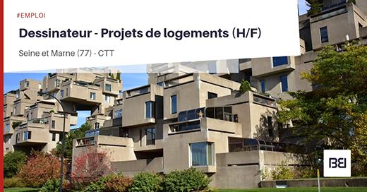 Dessinateur - Projets de logements
