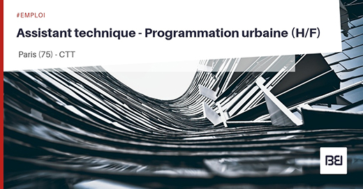Assistant technique - Programmation urbaine