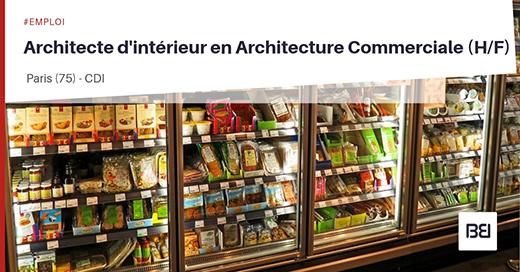 ARCHITECTE D'INTÉRIEUR EN ARCHITECTURE COMMERCIALE