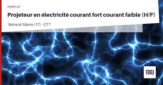 Projeteur en électricité courant fort courant faible