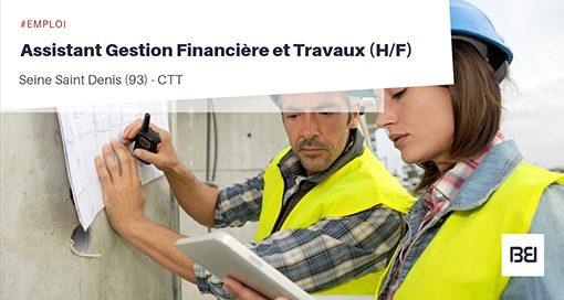 ASSISTANT GESTION FINANCIÈRE DE TRAVAUX