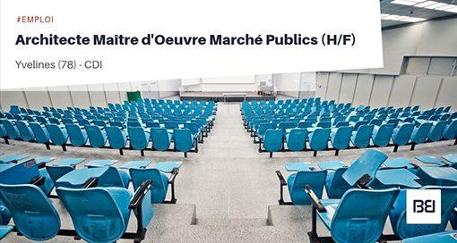 ARCHITECTE MAITRE D'OEUVRE MARCHES PUBLICS