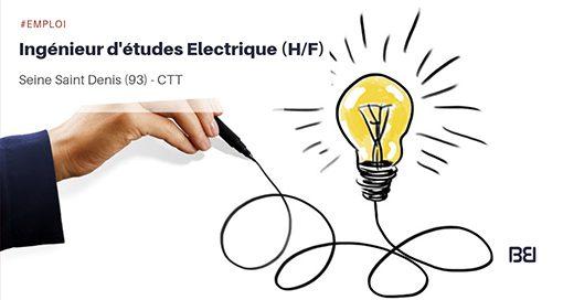 INGENIEUR D'ETUDES ELECTRIQUE