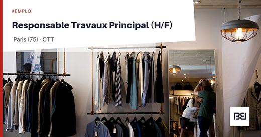 Responsable Travaux Principal