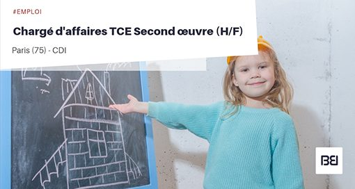 Chargé d'affaires TCE second œuvre