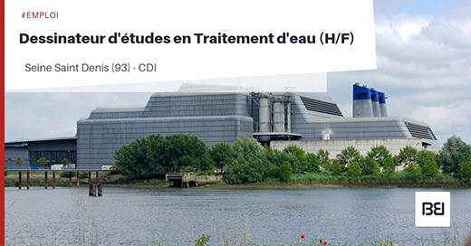 Offre d 39 emploi dessinateur d 39 tudes en traitement d 39 eau bureau d 39 tude interim - Offre d emploi bureau d etude ...