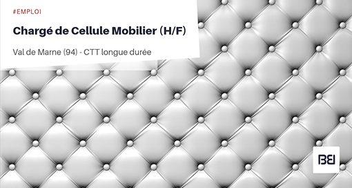 CHARGÉ DE CELLULE MOBILIER