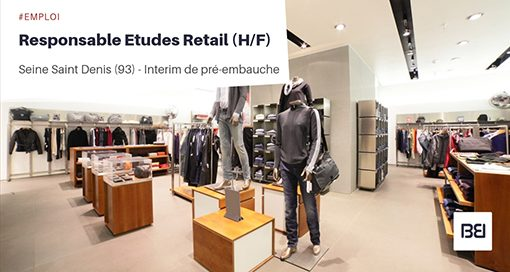 RESPONSABLE ETUDES RETAIL