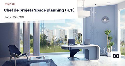 CHEF DE PROJETS SPACE PLANNING