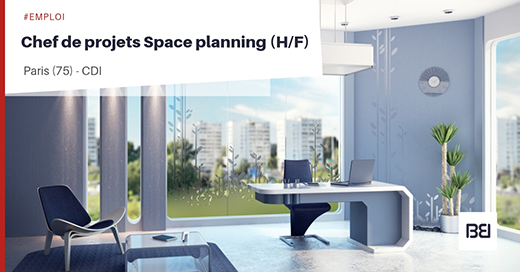 CHEF DE PROJETS SPACE PLANNING