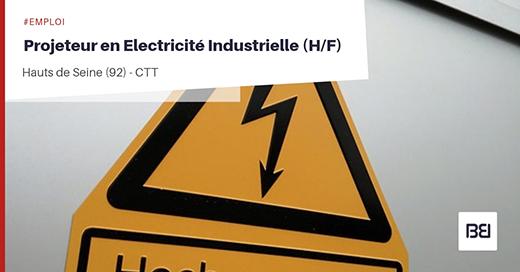 PROJETEUR EN ELECTRICITÉ INDUSTRIELLE