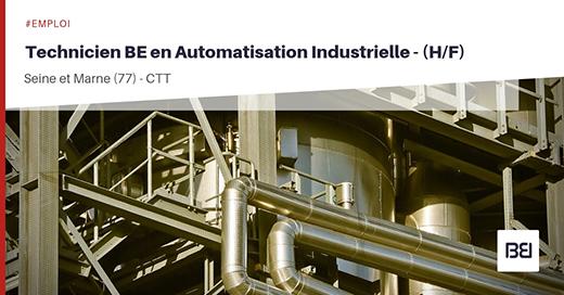 Technicien BE en Automatisation Industrielle