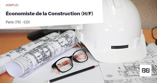 ÉCONOMISTE DE LA CONSTRUCTION