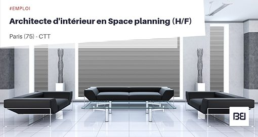 Architecte d'intérieur - Space planning