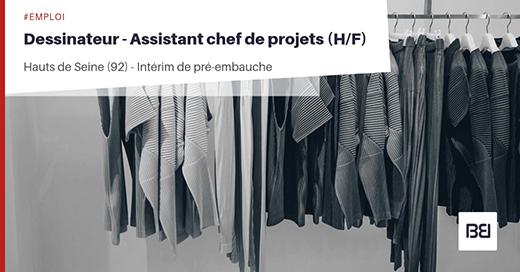 DESSINATEUR - ASSISTANT CHEF DE PROJETS
