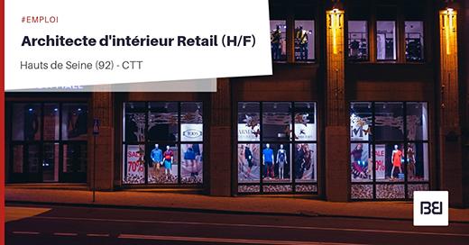 Architecte d'intérieur Retail