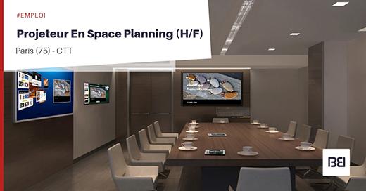 Projeteur en Space planning