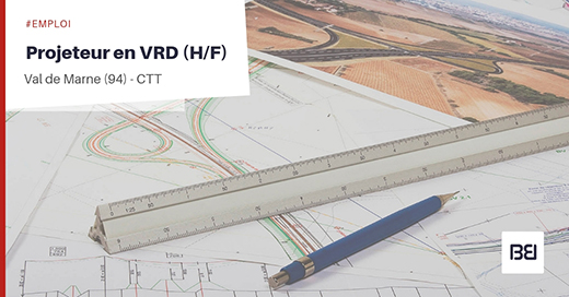 Projeteur en VRD
