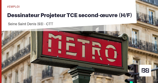 DESSINATEUR TCE SECOND-OEUVRE