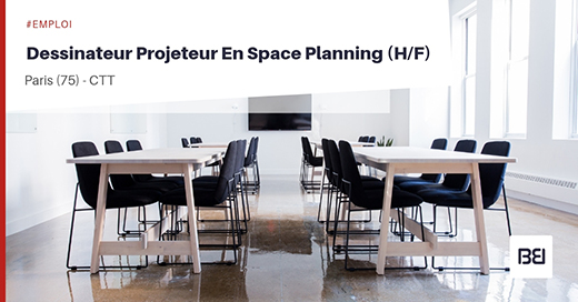 DESSINATEUR PROJETEUR EN SPACE PLANNING