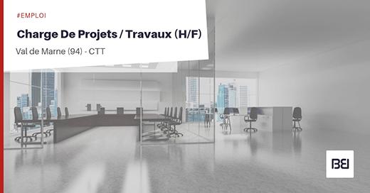 CHARGE DE PROJETS - TRAVAUX