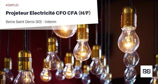 PROJETEUR ELECTRICITÉ CFO CFA