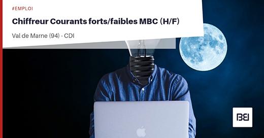 CHIFFREUR COURANTS FORTS/FAIBLES MBC
