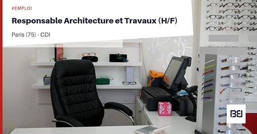 RESPONSABLE ARCHITECTURE ET TRAVAUX