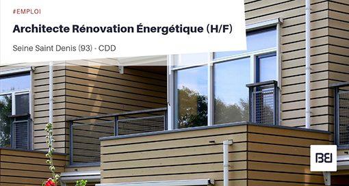 ARCHITECTE RÉNOVATION ÉNERGÉTIQUE